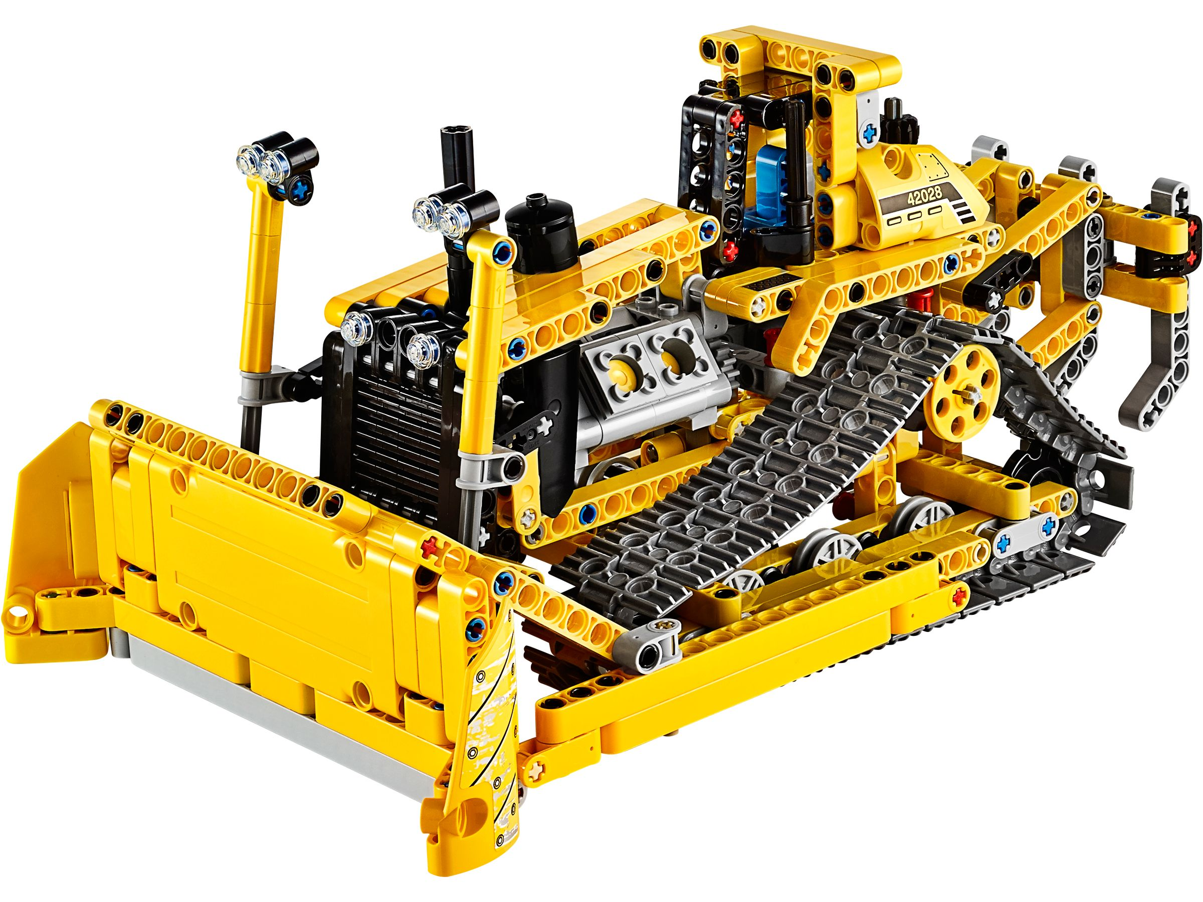 42028 bulldozer remote controlled muuss lego for Modele maison lego