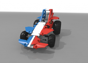 Off-road shorted dragster - BBR