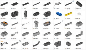 42043B - RC Advanced - Complementary Parts