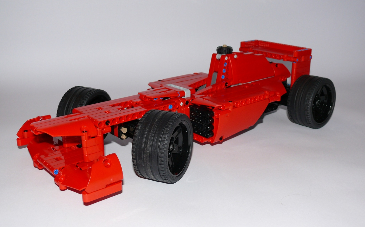 formula 1 ferrari moc muuss lego. Black Bedroom Furniture Sets. Home Design Ideas