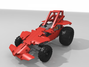 Off-road shorted dragster